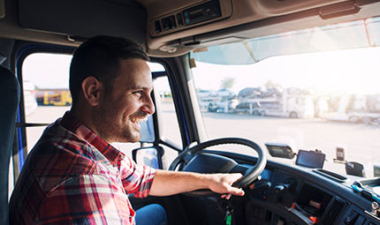 Zufriedene Fahrer mit dem Lkw Routenplaner Map&Guide