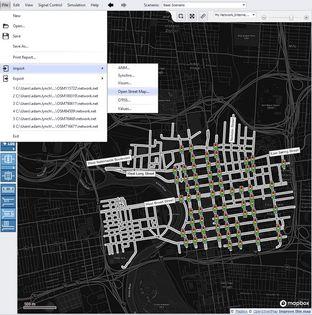 PTV Vistro OpenStreetMap Import