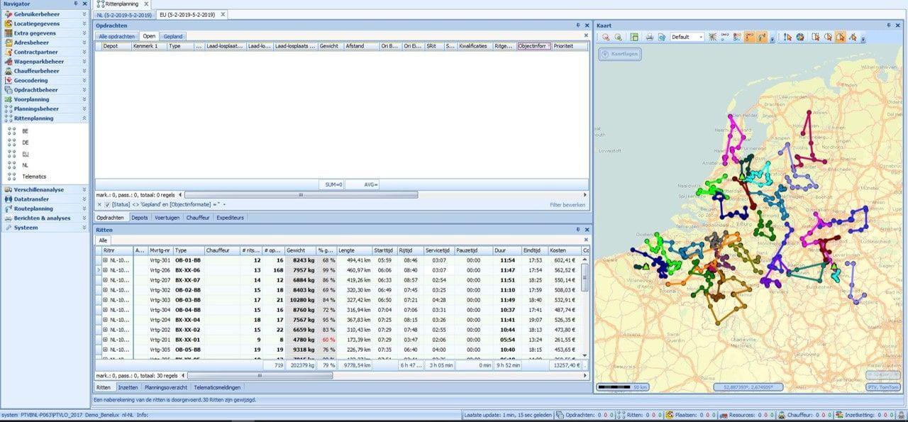 ritplanningssysteem & rittenplanning