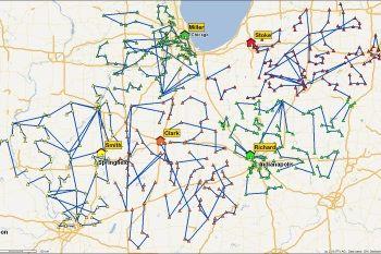 PTV Map&Market - Planification d'équipe terrain