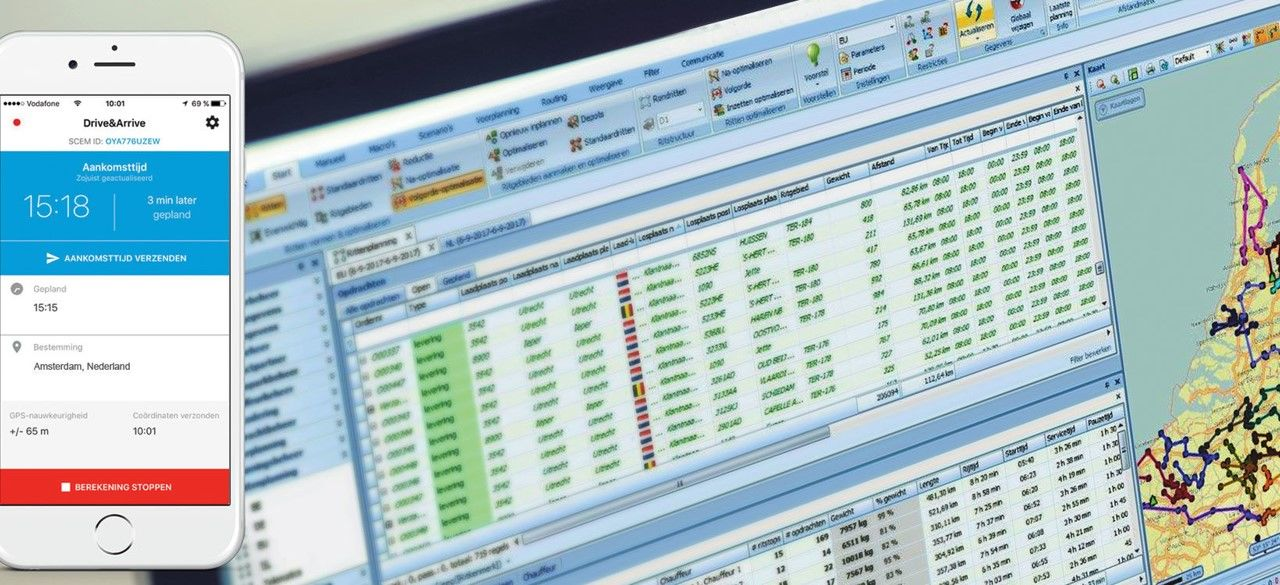 ritplanningssysteem & interfaces