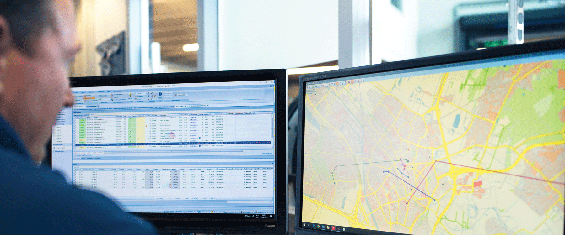 Driving Route Planner Driving Distance Optimizer >> Dynamic Routing Software Ptv Route Optimiser Ptv Group