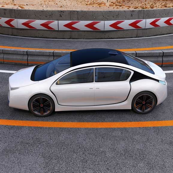 Visualisation de l'influence des véhicules autonomes sur la circulation avec PTV Visum