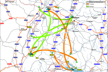 [Translate to Italiano:] ptv-mapmarket_goods-flows_350x233